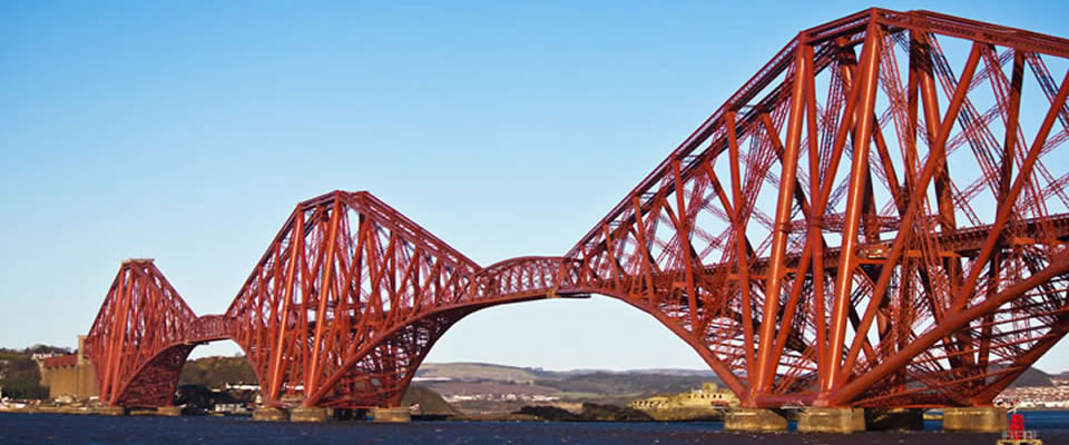 Painting the Forth Rail Bridge